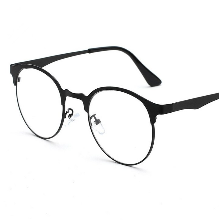 9a548e5d59f Get Quotations Lightweight Retro Frames Myopia Female Full Frame Metal Gl  Plain Glass Spectacles Tide Male. China New Spectacles Frames Ping