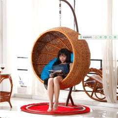 Hanging Chair Decor Ikea Covers Review China Blue Shopping Guide At Get Quotations Rattan Wicker Swing Waterweeds Basket Indoor And
