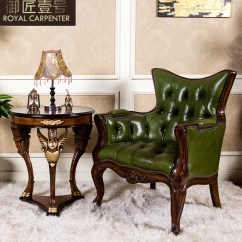 Corner Lounge Chair Arm Covers For Sale China Leather Shopping Royal Carpenter Number One Handmade Carved Wood American Furniture Combination Of Imported Round