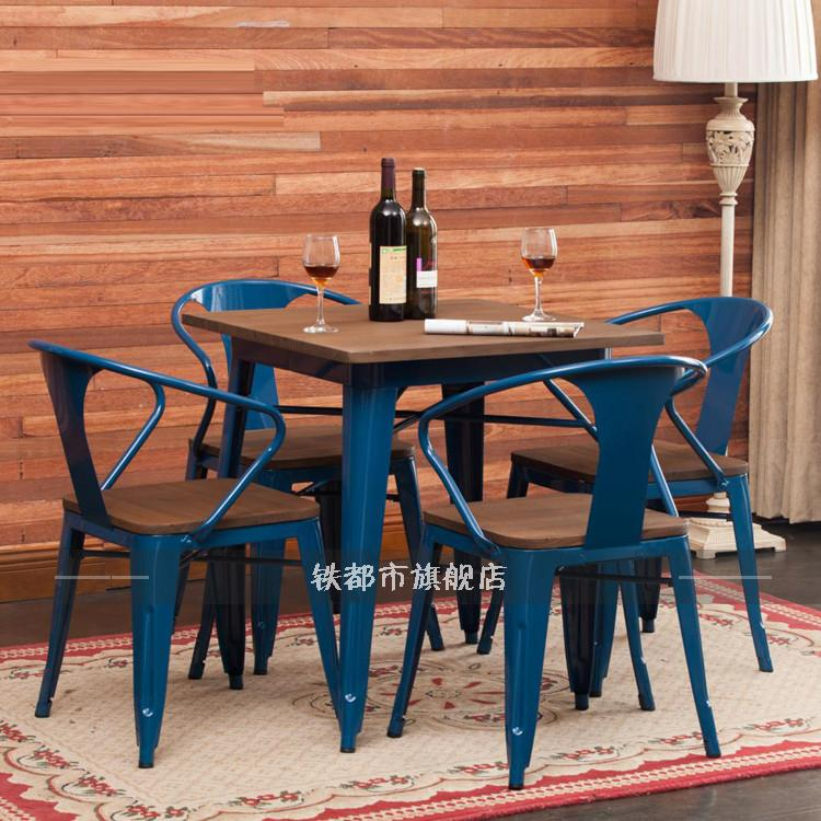 retro cafe dining chairs rocking glider chair cushions china shopping guide get quotations loft wood bar tables and tea dessert restaurant