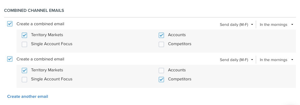 Subscribe to a Single Email on Multiple Channels