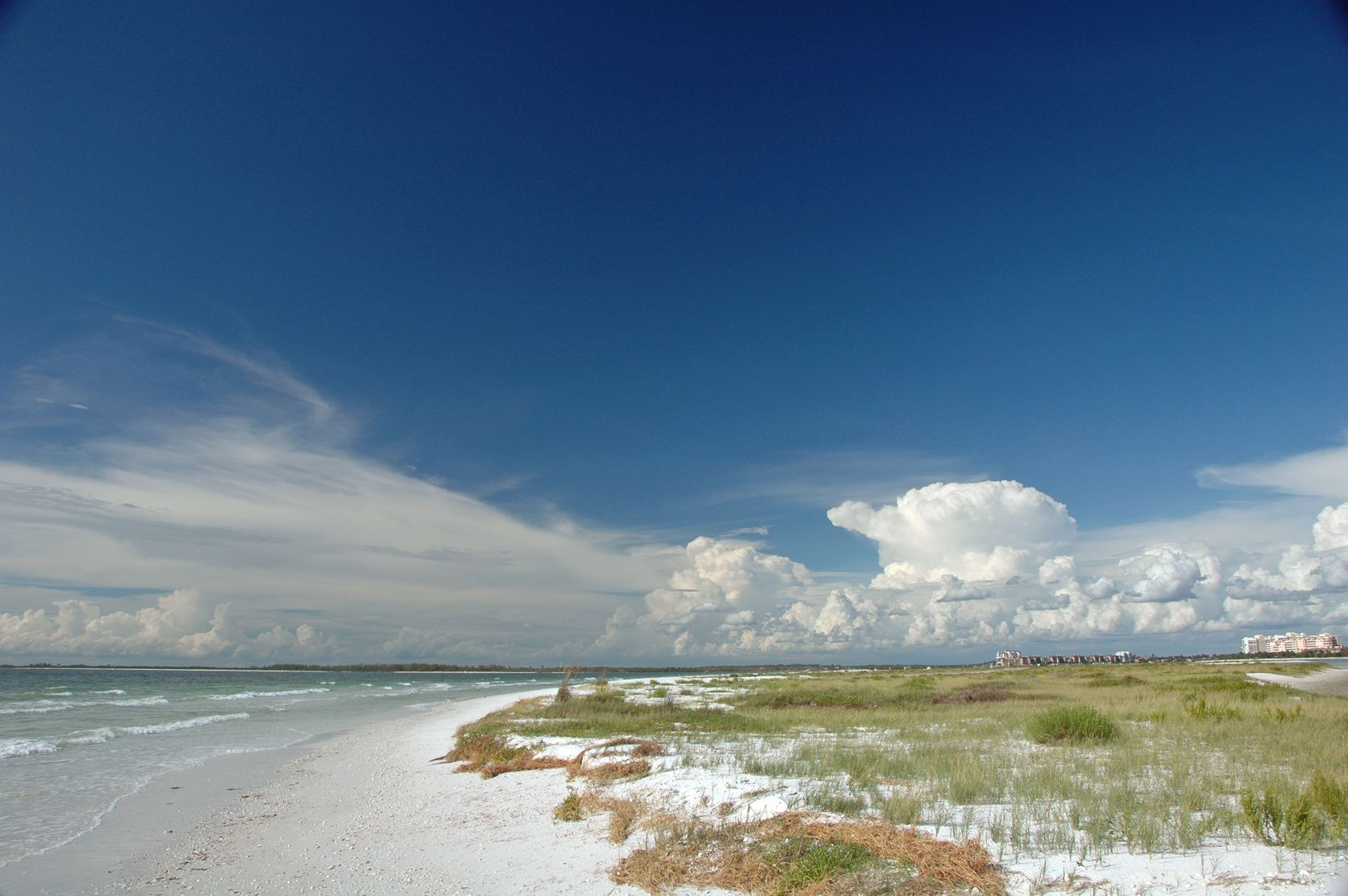 tiger tail beach at marco island, florida
