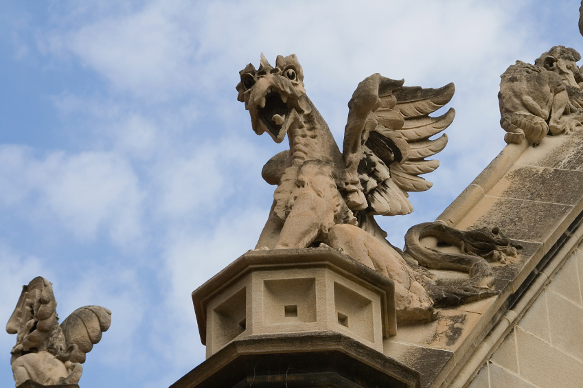 Gargoyle at University of Chicago
