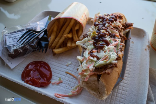 Barbecue Slaw Dog - Casey' s Corner - Magic Kingdom Dining