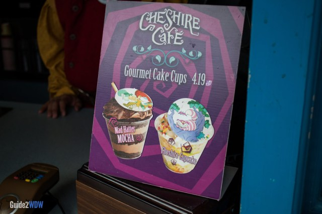 Cake Cups - Cheshire Cafe - Magic Kingdom Dining