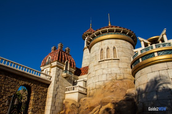 Eric's Castle - Journey of the Little Mermaid - Magic Kingdom Attraction
