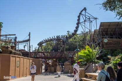 Boneyard - Animal Kingdom Attraction