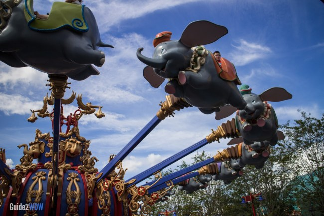 Dumbo the Flying Elephant - Magic Kingdom-Attraction
