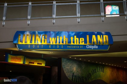 Entrance - Living with the Land - Epcot Attraction