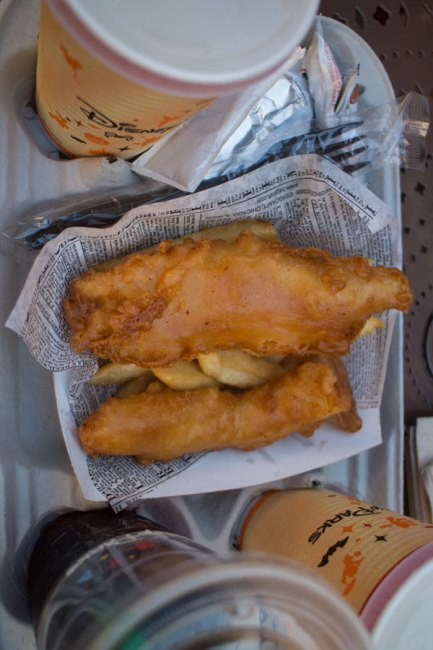Fish and Chips - Yorkshire County Fish Shop - Epcot Dining - Disney World