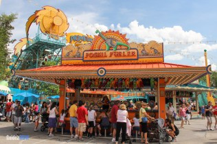 Fossil Fueler - Fossil Fun Games - Animal Kingdom Attraction