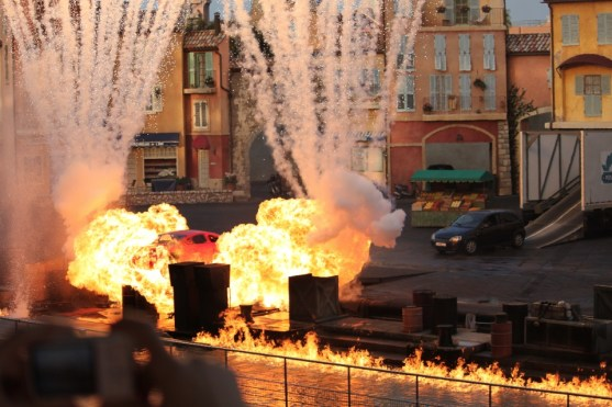 Explosion - Lights Motors Action - Disney Hollywood Studios Attraction