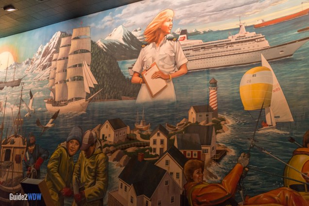 Mural - Maelstrom - Epcot Attraction