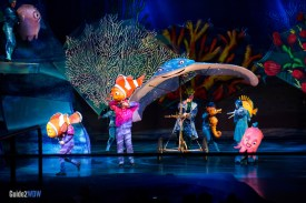 Mr Ray - Finding Nemo The Musical - Animal Kingdom Attraction