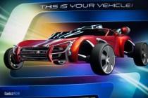 Test Track - Car Design 2 - Red Car