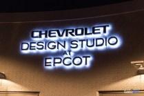 Chevy Design Studio Sign