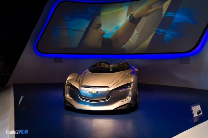 Chevy Concept Car - Test Track