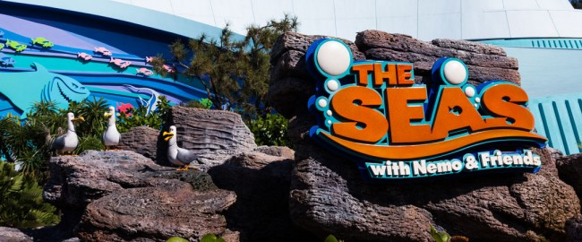 The Seas with Nemo and Friends Exterior - Epcot Attraction
