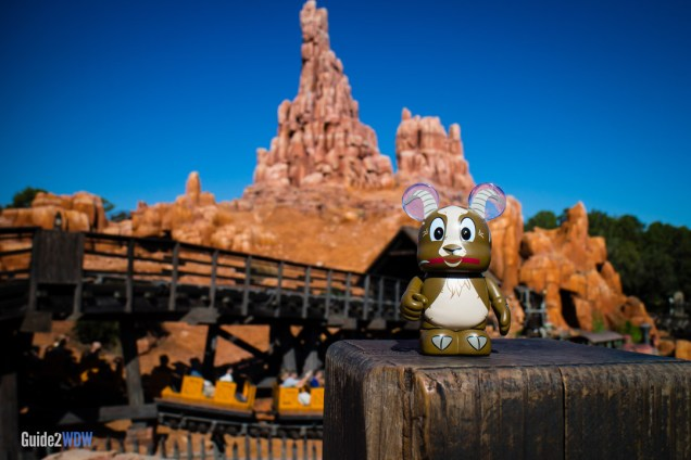 Big Thunder Mountain Railroad - Goat Vinylmation - Walt Disney World