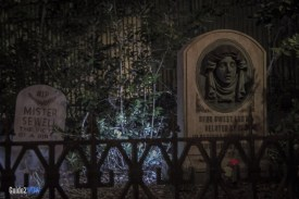 Haunted Mansion - Graveyard - Magic Kingdom Attraction