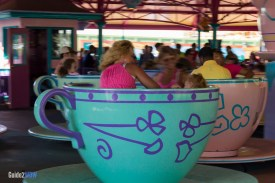 Mad Tea Party - Tea Cups - Magic Kingdom Attraction