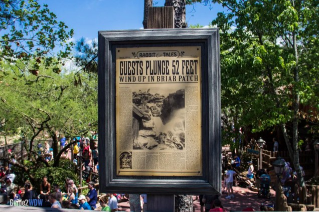 Splash Mountain - Sign - Disney World