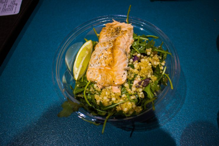 Salmon Quinoa Salad - ABC Commissary