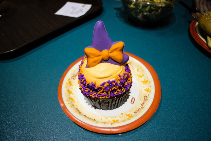 Halloween Seasonal Cupcake