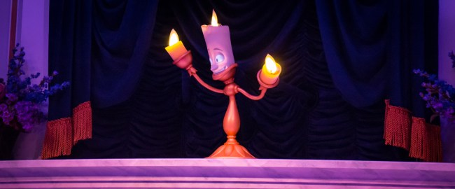 Lumiere - Enchanted Tales with Belle - Magic Kingdom Attraction