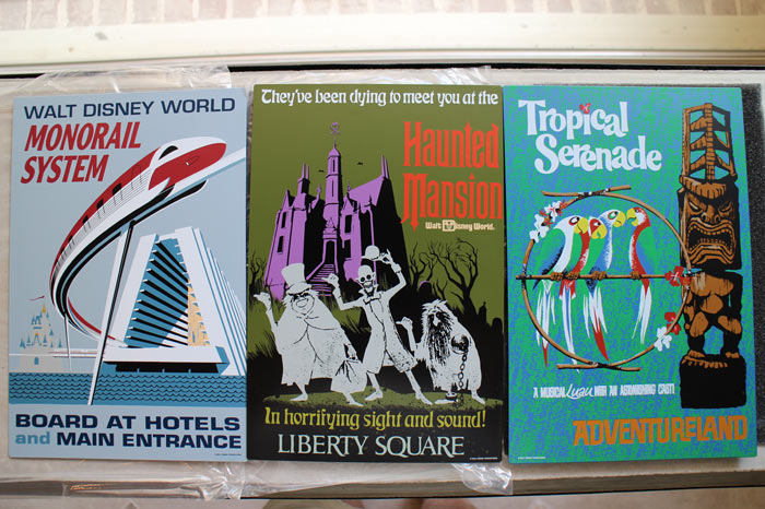 Metal Signs - Attraction Posters - WDW