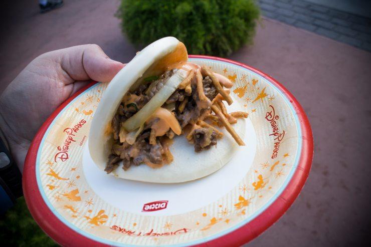 Mongolian Beef Bun - Epcot Food and Wine Festival