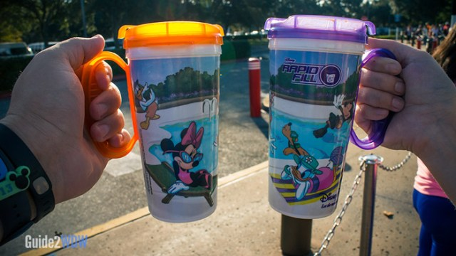 Walt Disney World - Rapid Refill Mugs