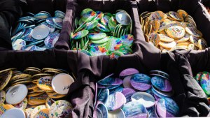 Celebration Buttons - Magic Kingdom - Disney World Free-Stuff