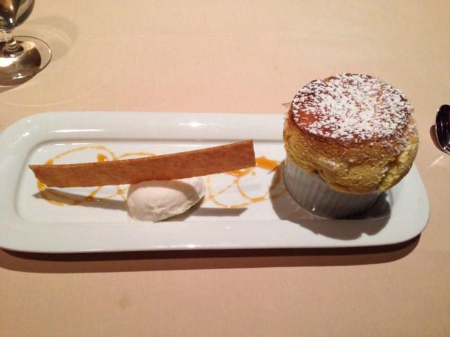 Souffle - Victoria & Albert's - Grand Floridian - Disney World Dining