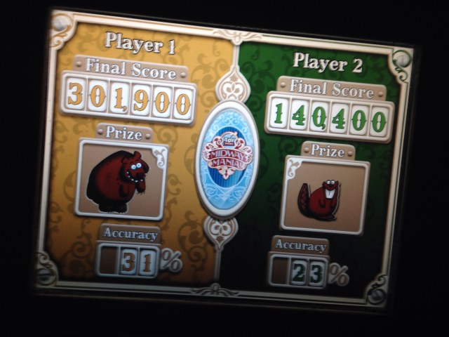 Toy Story Midway Mania - High Score