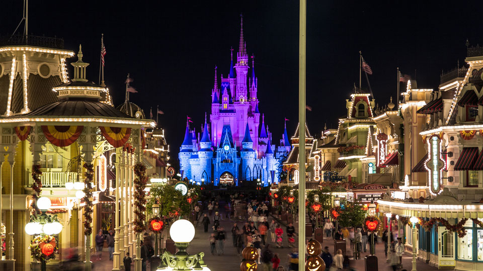Magic Kingdom - Late Night