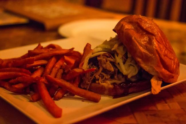 Pulled Pork Sandwich - Trader Sam's