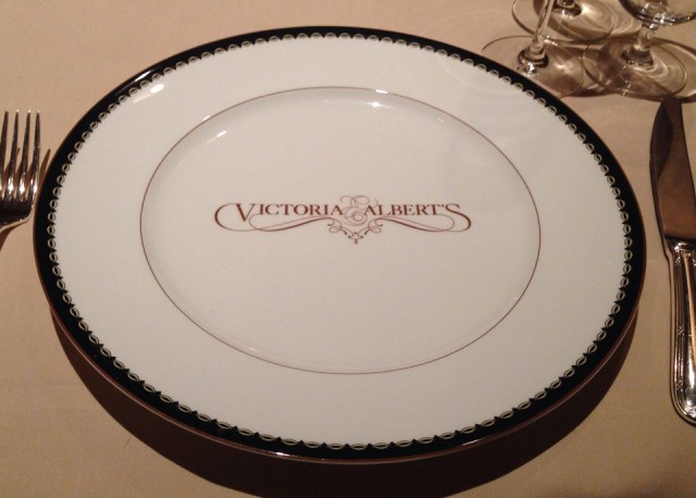 Plate - Victoria & Albert's -  Disney World Dining