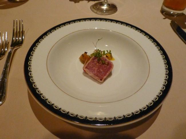Venison Amuse-Bouche - Victoria & Albert's - Disney World Dining