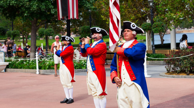 Spirit of America Fife and Drum - Epcot
