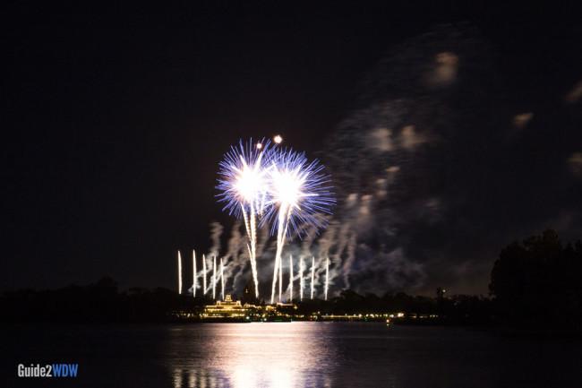TTC - Magic Kingdom Fireworks View at Disney World