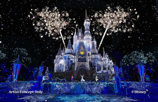 Magic Kingdom Castle Show with Elsa - Concept