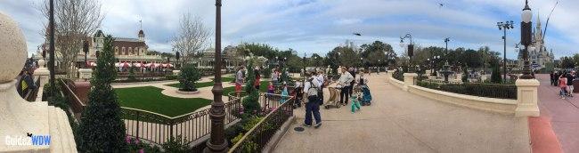 Panorama - Plaza Gardens East at Magic Kingdom | Guide2WDW