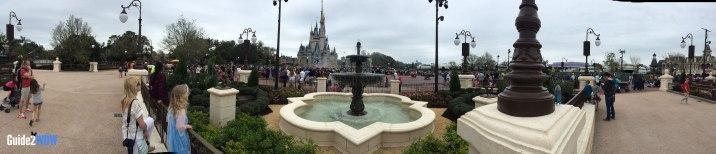 Fountain Panorama - Magic Kingdom Hub Expansion