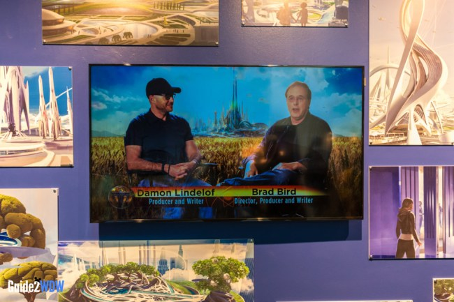 Brad Bird and Damon Lindelof - Tomorrowland Disneyland Preview