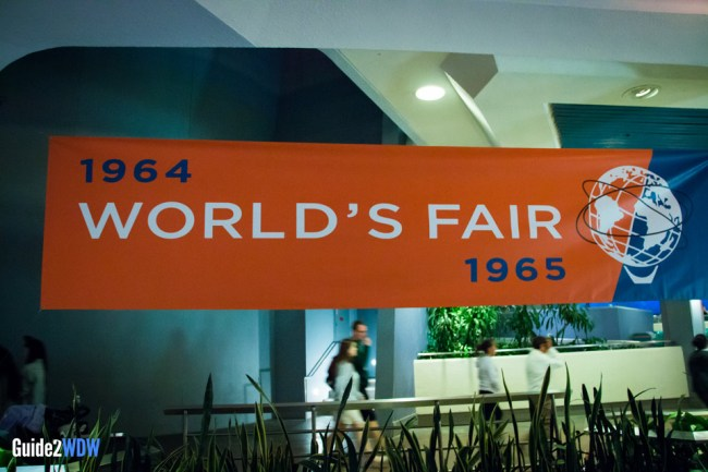 1964 World's Fair Banner - Disneyland Tomorrowland Preview