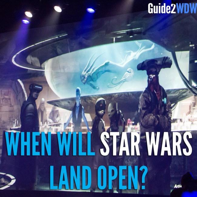 When Will Star Wars Land Open? Guide2WDW