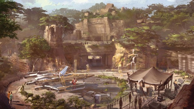 Star Wars Land Details - Guide2WDW