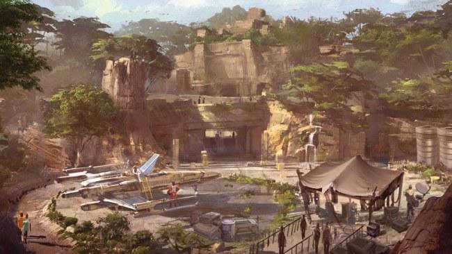 Star Wars Land Details - Guide2WDW
