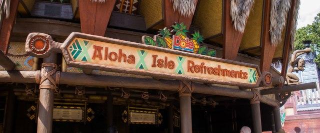 Aloha Isle Refreshments - Magic Kingdom